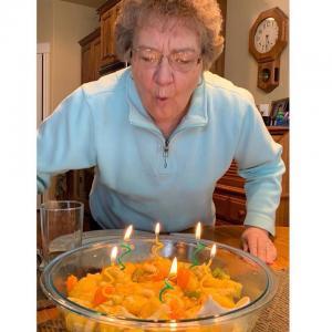 Sandy Inman's birthday