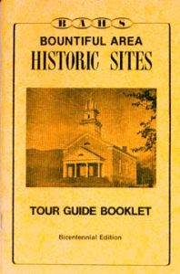 Tour Guide Booklet (A new Reprint) $5.00